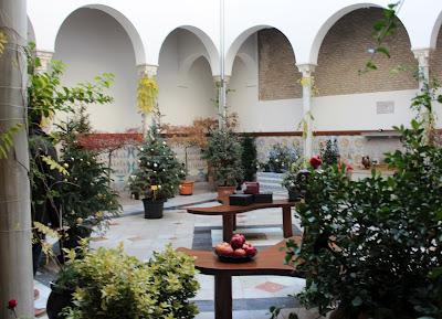 Patio de los perfumes. Granada