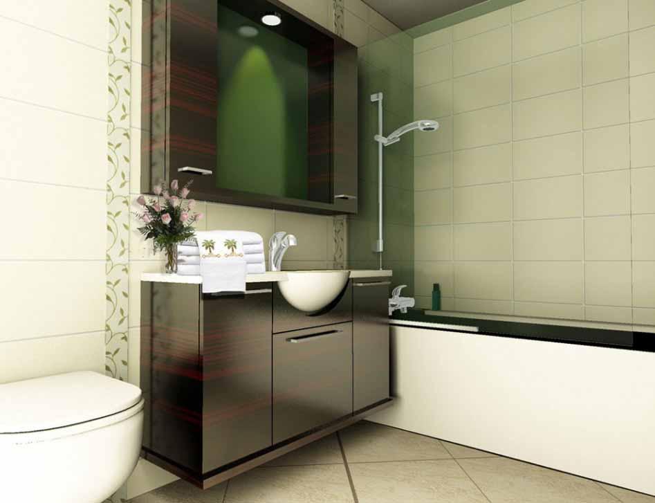 Desain kamar mandi modern untuk rumah minimalis  Desain Kamar Mandi