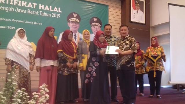 Pelaku IKM Depok Raih Sertifikat Halal