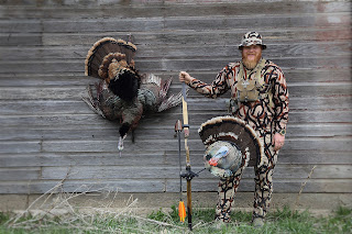 Heads Up Turkey Decoy