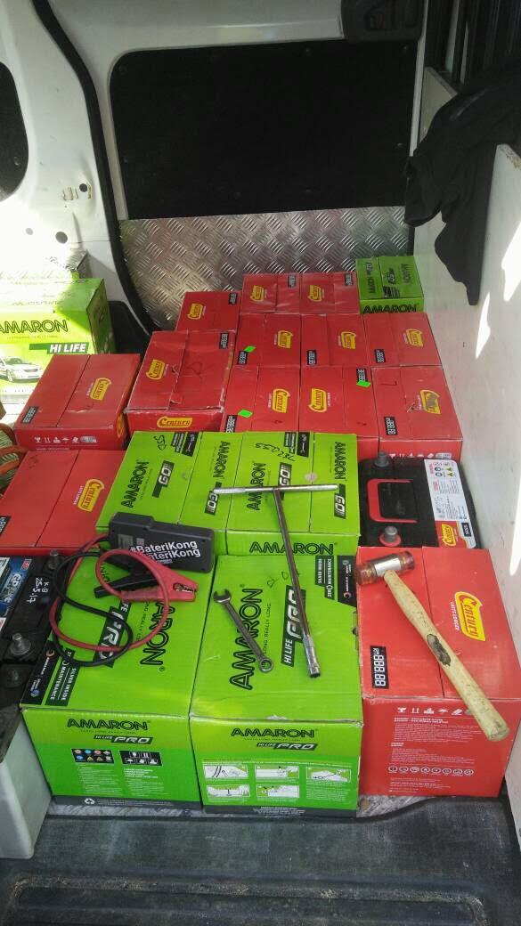 kereta kong, bateri kong, bantuan dalam perjalanan, bateriku.com, ganti bateri kereta