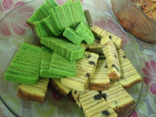 Kek lapis sedap evergreen dan lapis cheese hershey