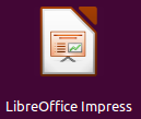 LibreOffice Impress icono