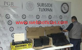 Vinculan a proceso a dos detenidos con cocaina en Tihuatlan Veracruz