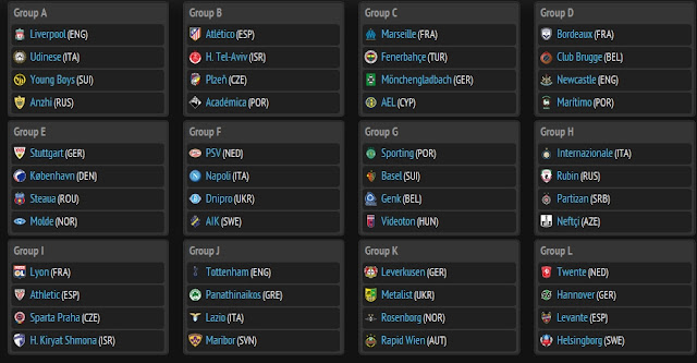 UEFAEuropaLeague  - Europa League 2012 - 2013