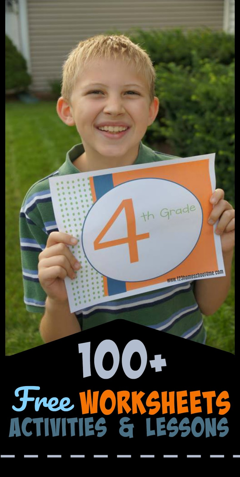 FREE 4th Grade Worksheets & Games