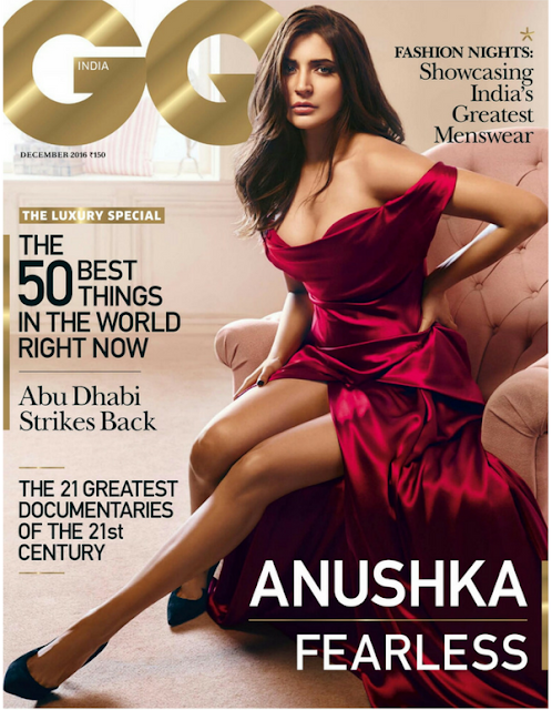 Anushka Sharma Stunning Photoshoot for GQ India