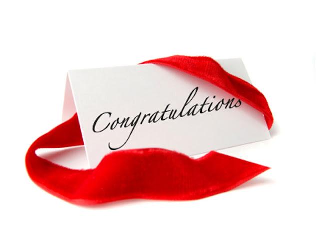 Tahniah pada yang berjaya!