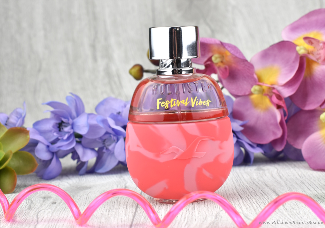 Neues Duft Duo von Hollister - Festival Vibes for Her Eau de Parfum - Review