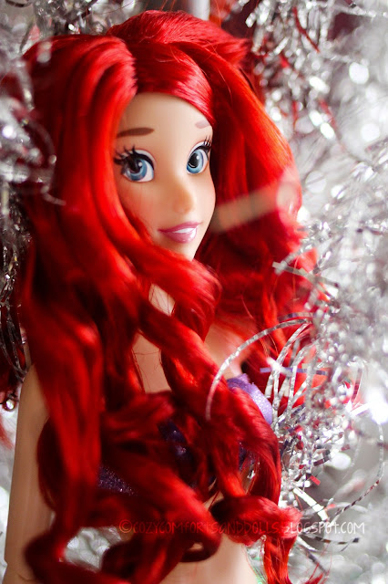Cozy comforts and dolls disney deluxe 18 inch feature for Ariel christmas decoration