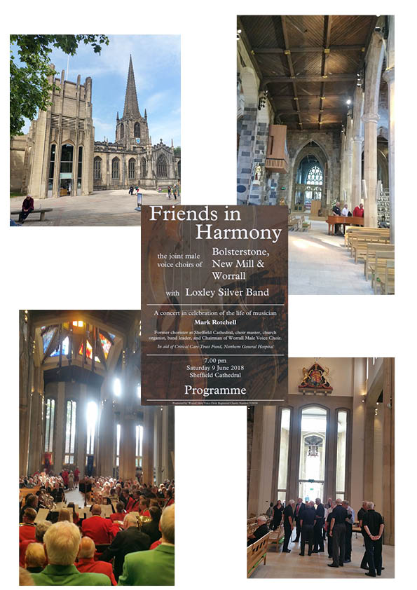 Great audience and stunning venue for Mark Rotchell's memorial concert