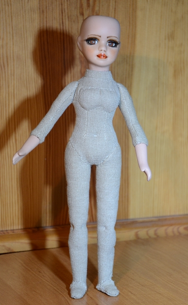 New body for porcelain doll.