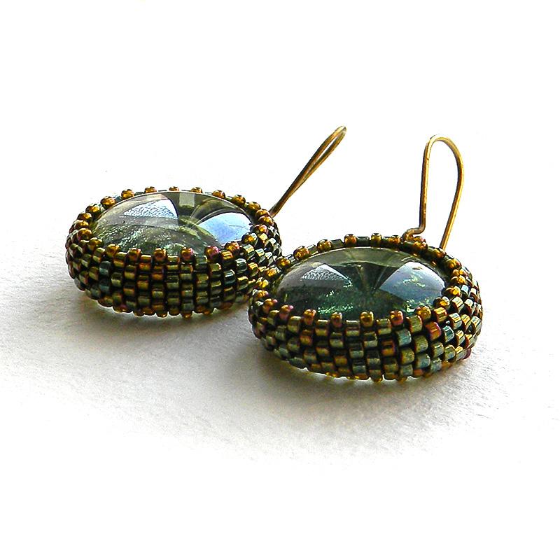 seed bead earrings beaded jewelry beadwork anabel27