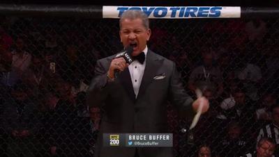 Bruce Buffer UFC 200
