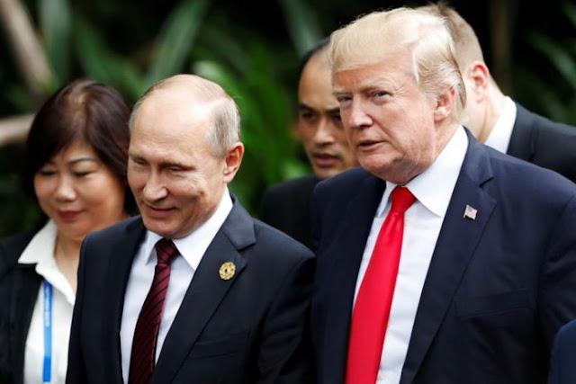 Trump y Putin se reunirán en Helsinki en julio