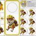 Paw Patrol: Rubble Free Printable Mini Kit.