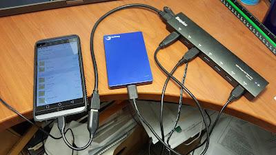 USB OTG Android ke Harddisk