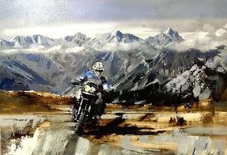 Oli sobre tela d'Aida Mauri / Oil on canvas by Aida Mauri