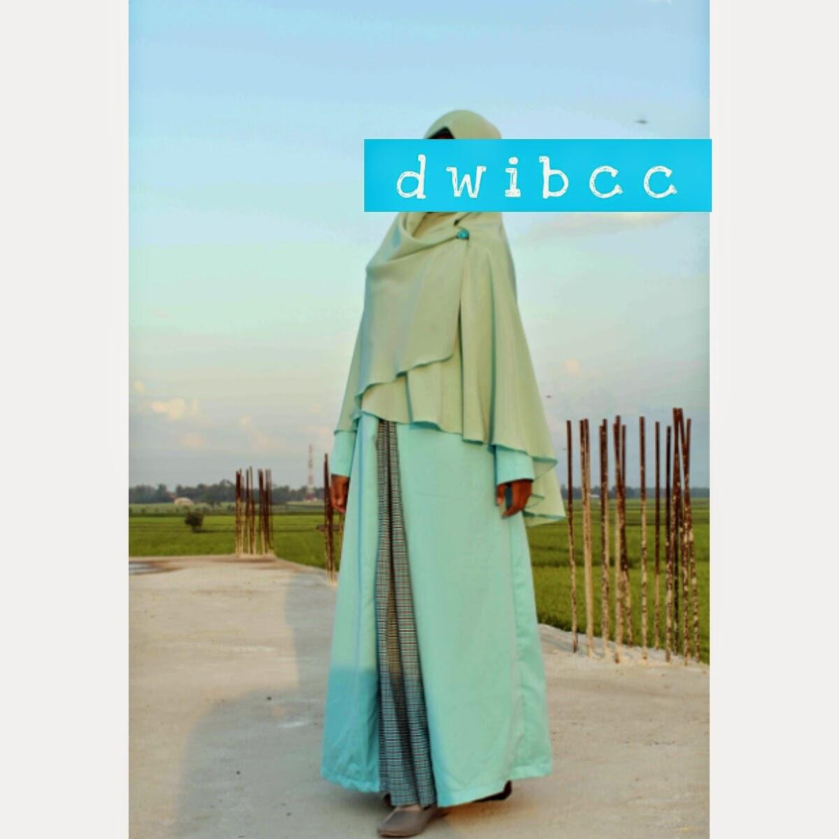 gamis dwi bcc by dwi lestari hijab
