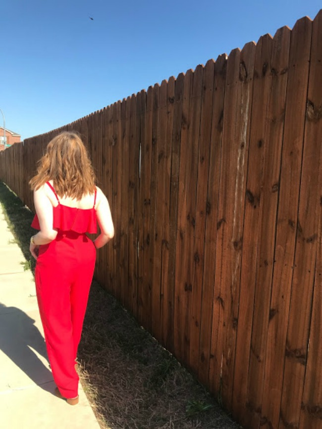 How To Wear The Red Jumpsuit