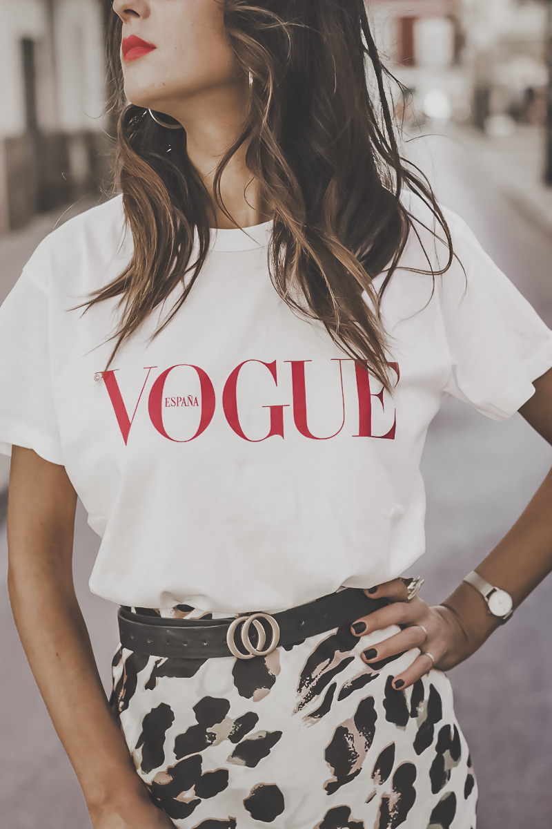 30 aniversario vogue camiseta