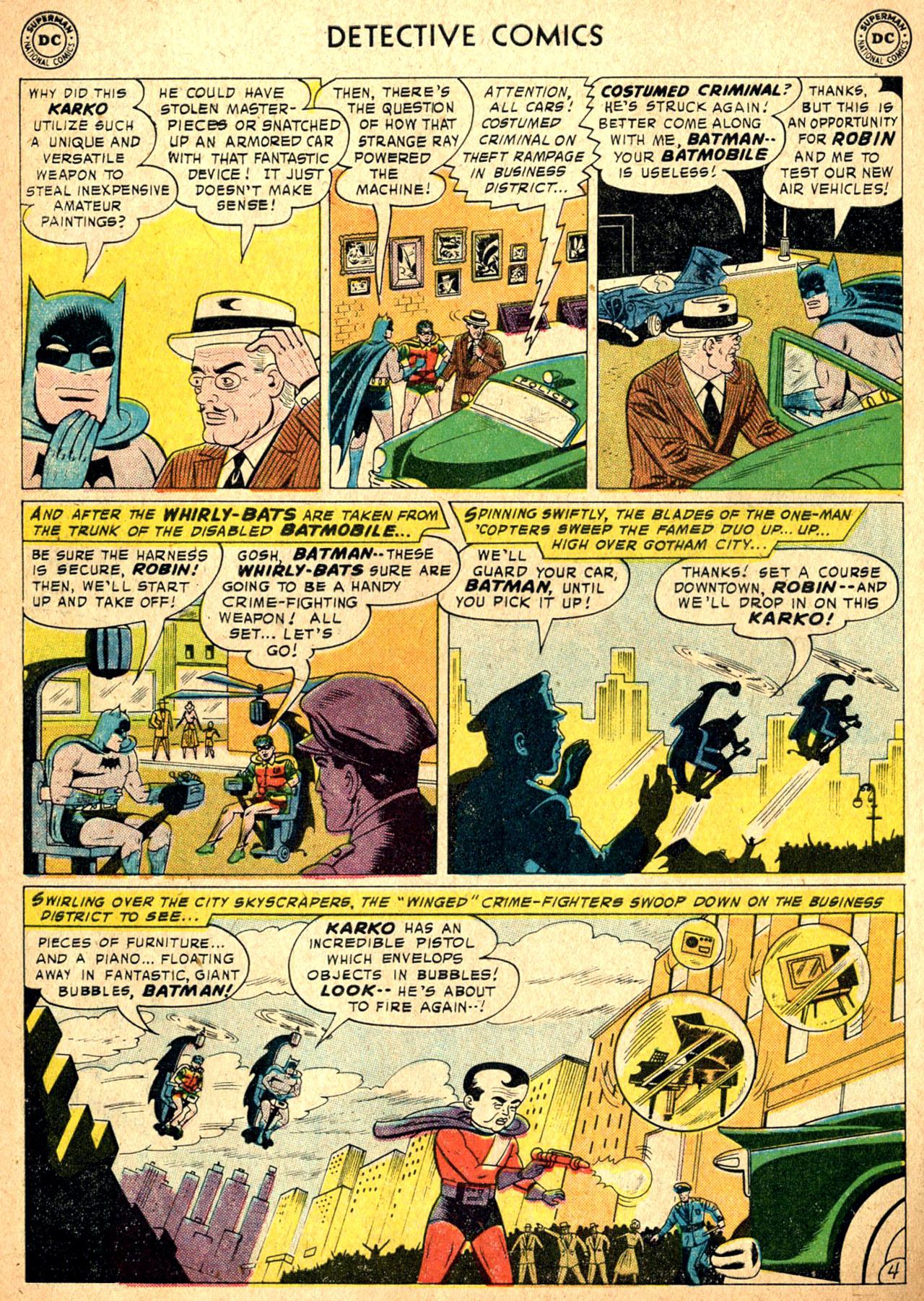 Read online Detective Comics (1937) comic -  Issue #257 - 6