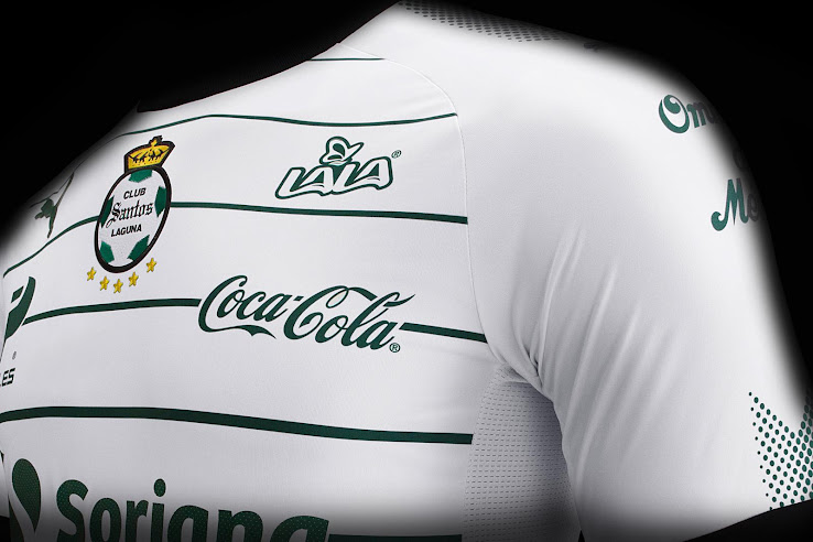 b31030cd455 ... Mexican club Santos Laguna released its brand-new home kit a few hours  ago. +2. 3 of 3