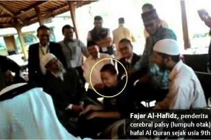 Subhanallah... Dr. Zakir Naik Kagum Ada Anak Indonesia Cacat Otak Tapi Hafal AlQuran