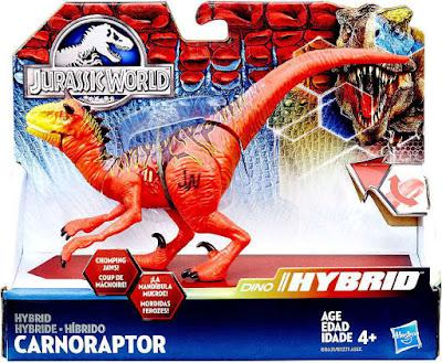 TOYS : JUGUETES - JURASSIC WORLD  Hibrido : Carnoraptor | Dinosaurio  Producto Oficial 2016 | Hasbro B8631 | A partir de 4 años  Comprar en Amazon España & buy Amazon USA