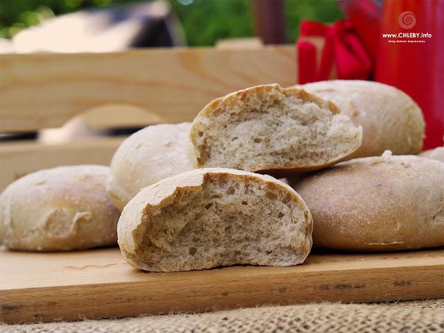 Bułeczki pszenno-żytnie