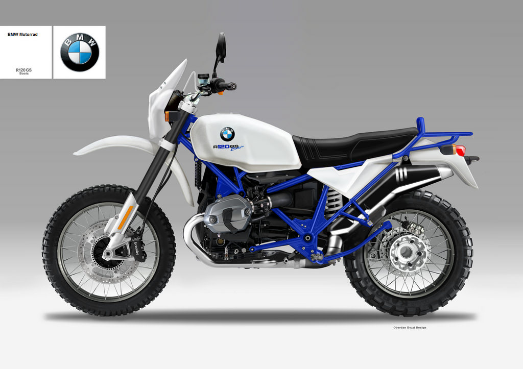 Motosketches Bmw R 120 Gs Basic