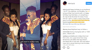Lady claims she's Mr. Eazi's girlfriend as she wishes him Happy Birthday