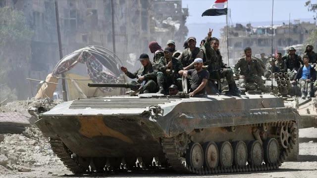 """Ejército sirio traspasa la """"línea roja"""" de EEUU en el Golán"""