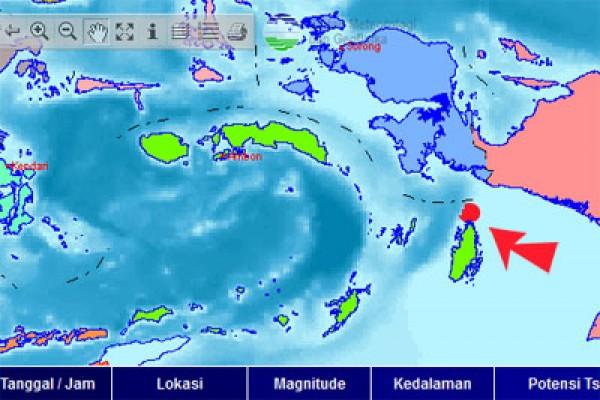 Hari Ini Maluku Di Guncang Gempa Hingga Mencapai 5 Kali