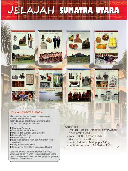 Jual Buku Jelajah Sumatra Utara