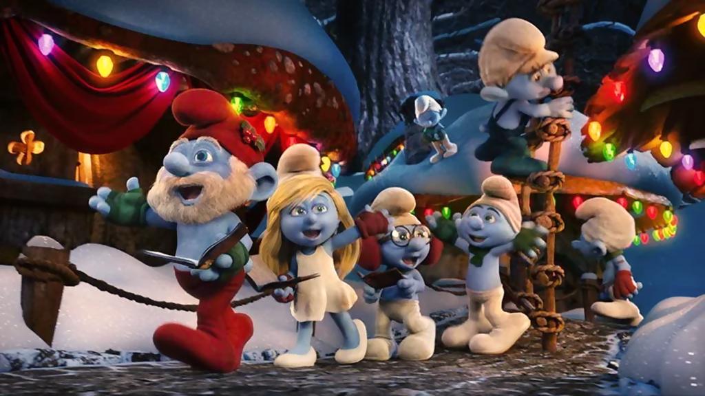 os smurfs especial de natal