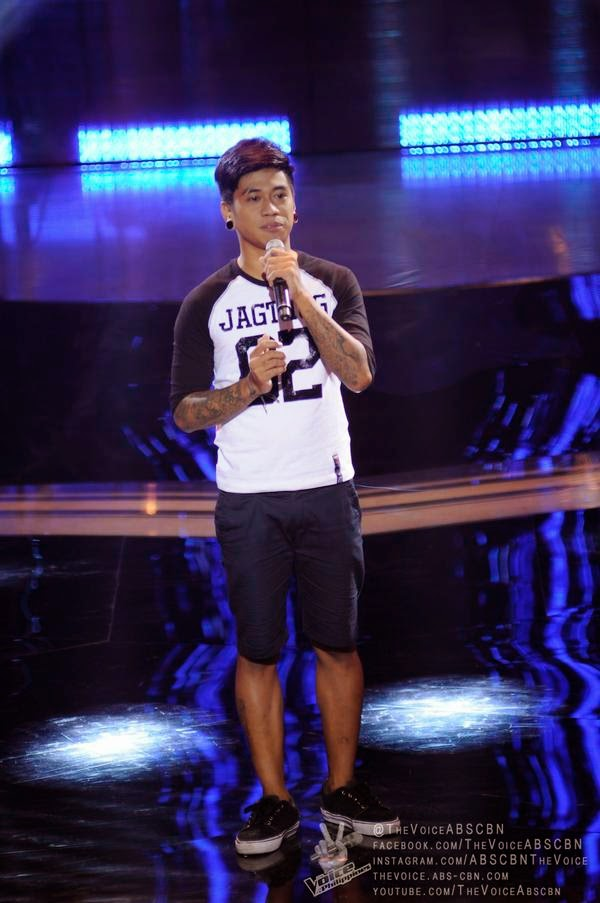 Sean Oquendo sings 'Ako Na Lang' on 'The Voice PH'