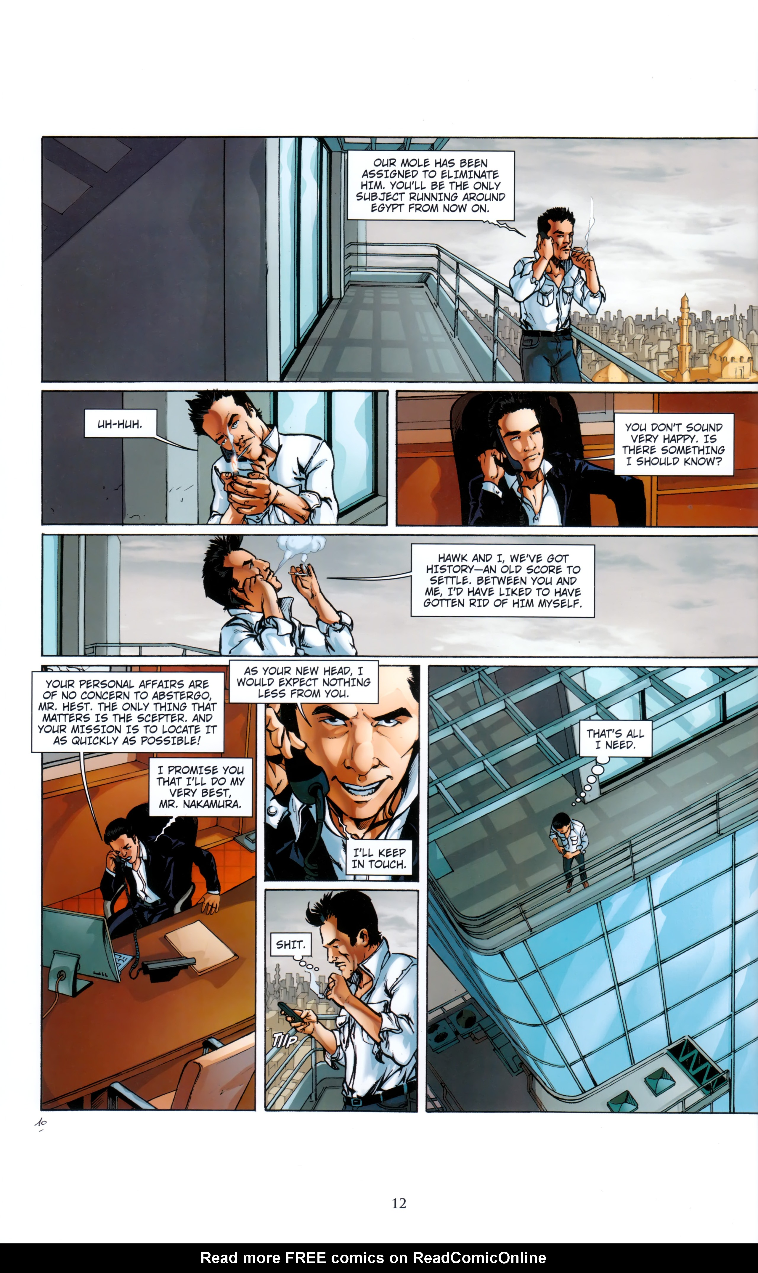 Read online Assassin's Creed (2012) comic -  Issue #5 - 12