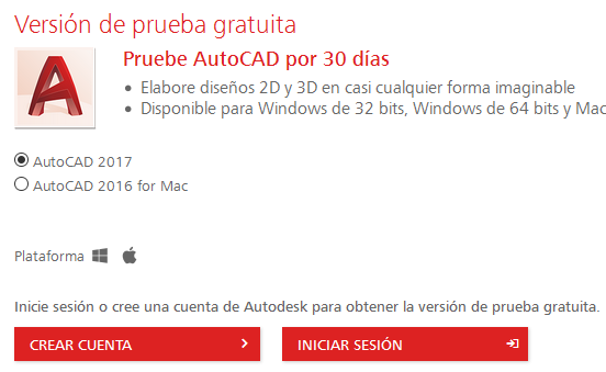 http://latinoamerica.autodesk.com/products/autocad/free-trial