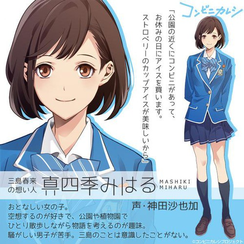 Sayaka Kanda como Miharu Mashiki