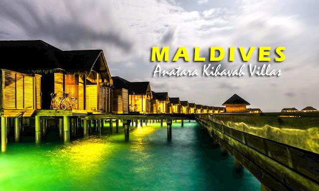 Anantara Kihava Villas in Maldives