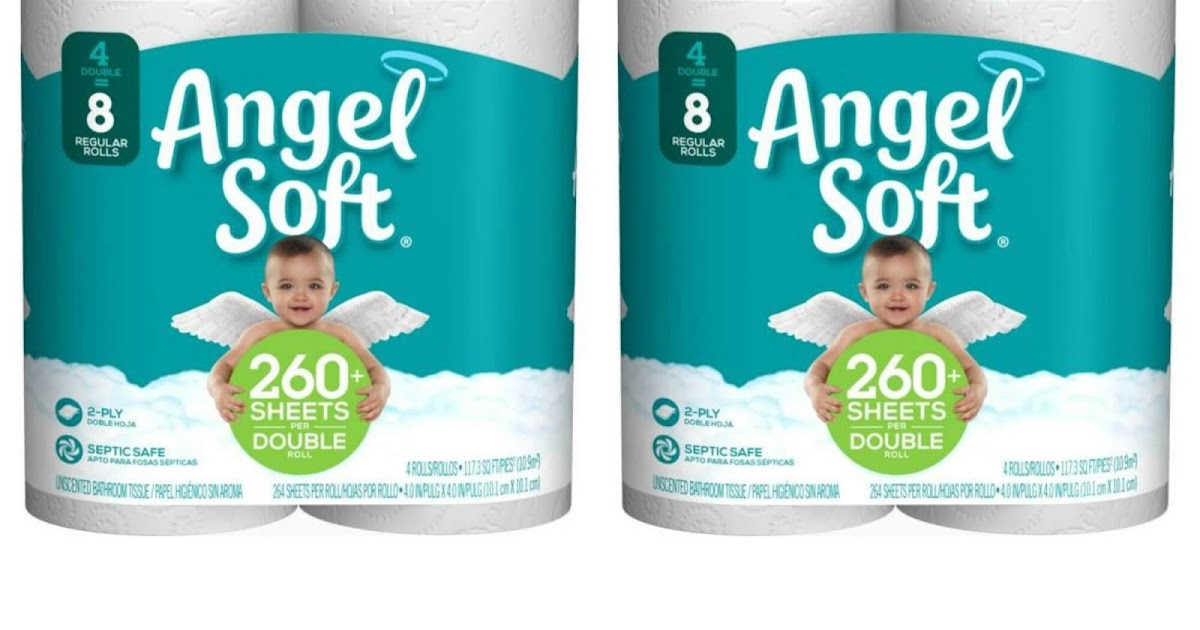 Angel Soft Toilet Paper 34 Cents Per Pack Normally 2