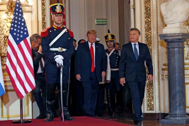 Trump y Macri conversaron sobre Venezuela en la cumbre del G20