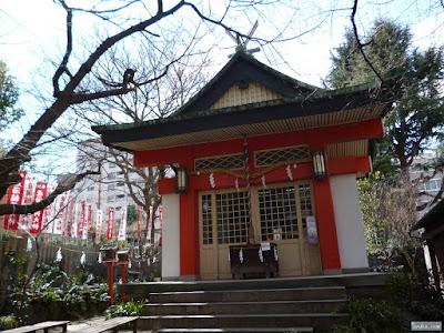 産湯稲荷神社拝殿