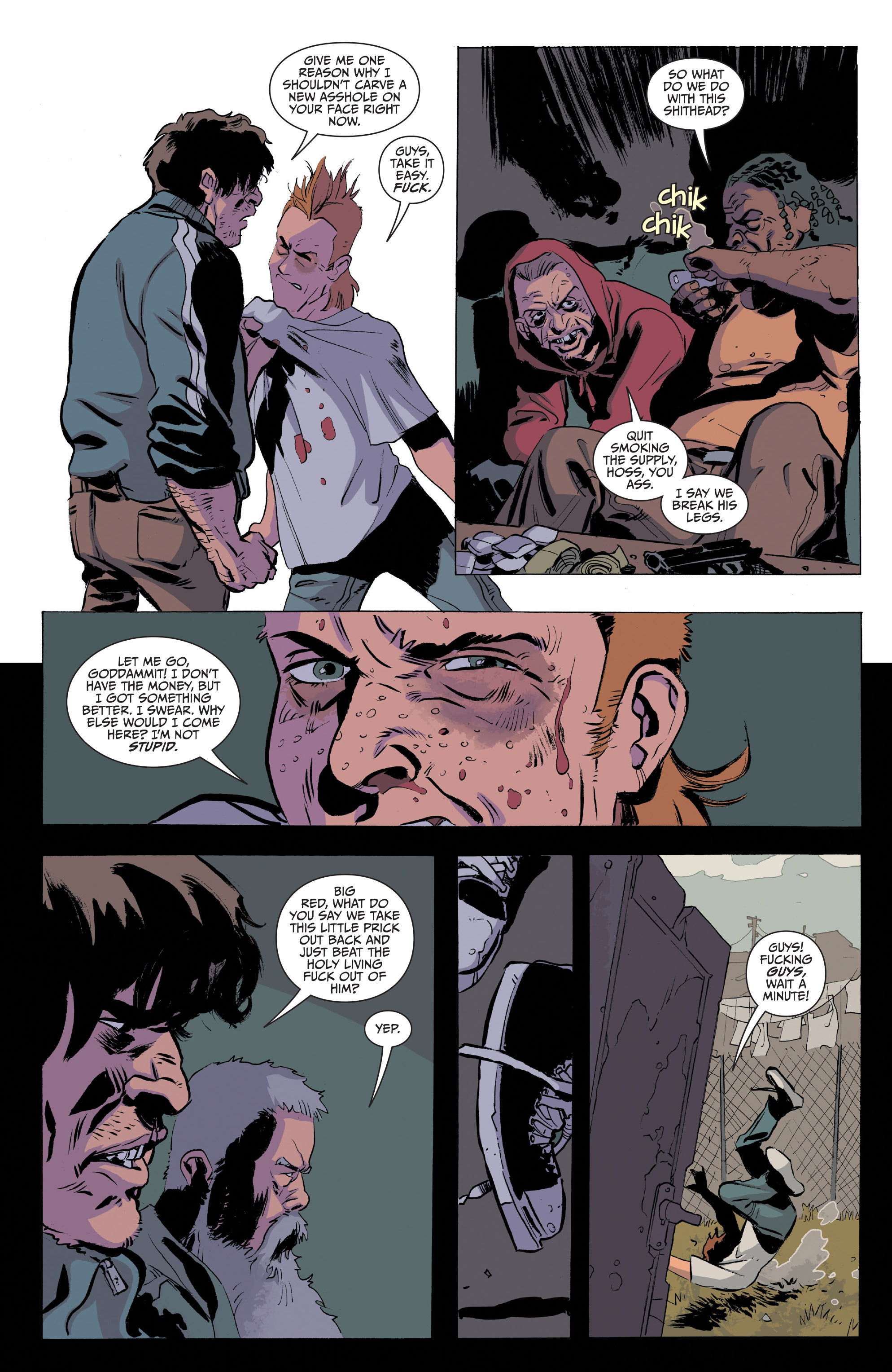 Read online Sons of Anarchy comic -  Issue #20 - 11