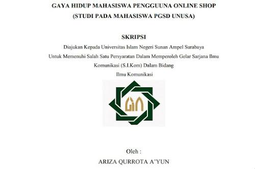 Contoh Skripsi Online Shop Contoh Soal Dan Materi Pelajaran 8