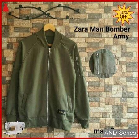 AND150 Jaket Pria Jaket Bomber Jacket Zara BMGShop