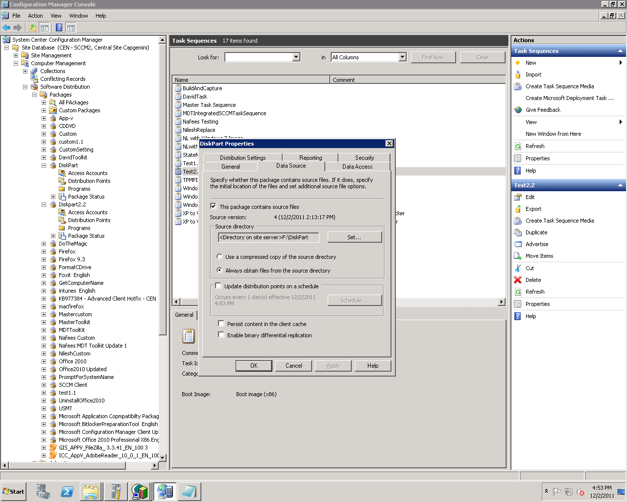 SCCM 2012 for Beginners to Intermediate : Use of Diskpart
