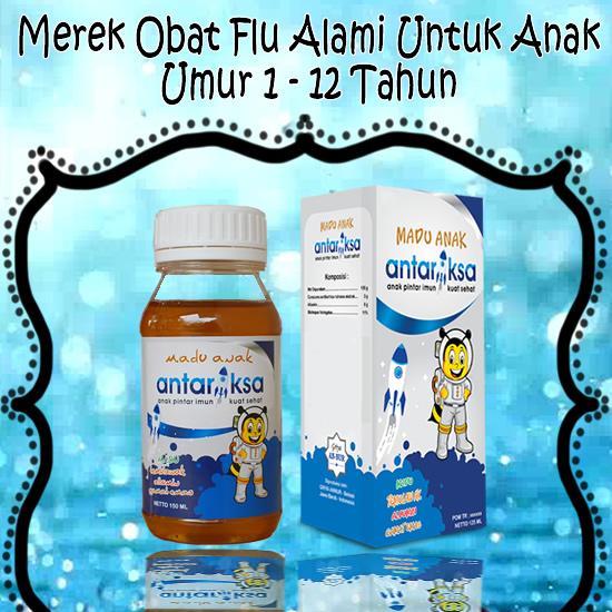 Merek Obat Flu Yang Terbaik Untuk Anak Usia 1-3 Tahun