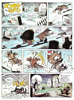 Zomby y el Gato, Creepy 2ª nº 3